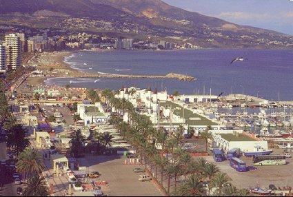 Fuengirola, tra Malaga e Marbella, in Costa del Sol