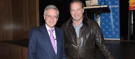 Douglas Doman con Bertin Osborne (foto ripresa da Bekia)